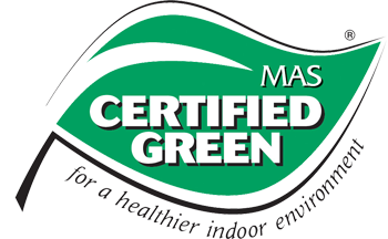 MAS Green Certified Logo